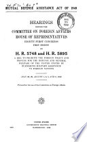 Mutual Defense Assistance Act Of 1949