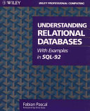 Understanding relational databases with examples in SQL 92
