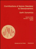 Contributions of Space Geodesy to Geodynamics