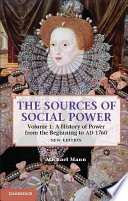 Ebook The Sources of Social Power: Volume 1, A History of Power from the Beginning to AD 1760 Epub Michael Mann Apps Read Mobile