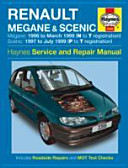 Renault Megane And Scenic Petrol And Diesel Service And Repair Manual