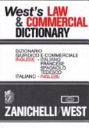 illustration du livre West's Law & Commercial Dictionary