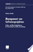 Management von Softwareprojekten