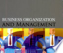Business Organization and Management  2006 Ed