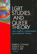 Lgbt Studies and Queer Theory