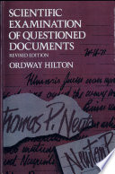 Scientific Examination of Questioned Documents  Revised Edition