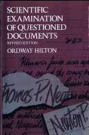 Scientific Examination of Questioned Documents, Revised Edition
