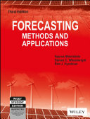 FORECASTING METHODS AND APPLICATIONS  3RD ED