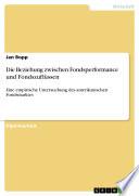 Die Beziehung zwischen Fondsperformance und Fondszuflüssen