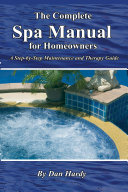 download ebook the complete spa manual for homeowners pdf epub
