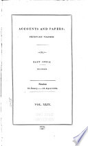 Parliamentary Papers 1850-1908