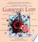 Gardener s Latin