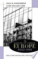 The Making of Urban Europe  1000 1994