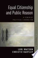 Equal Citizenship And Public Reason