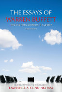 The Essays of Warren Buffett Book