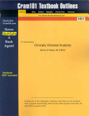 Studyguide for Clinically Oriented Anatomy by Dalley  Moore    ISBN 9780683061413