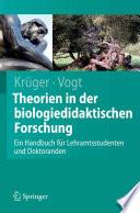 Theorien in der biologiedidaktischen Forschung