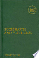 Ecclesiastes and Scepticism