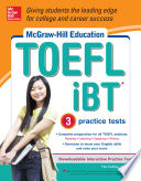 McGraw Hill Education TOEFL iBT with 3 Practice Tests and DVD ROM