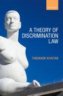 download ebook a theory of discrimination law pdf epub