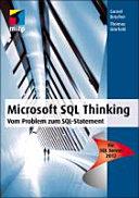 Microsoft SQL Thinking