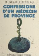 Confessions d'un médecin de province