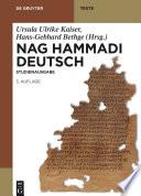 Nag Hammadi Deutsch