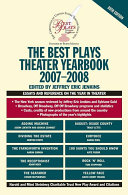 The Best Plays Theater Yearbook 2007 2008