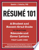 Resume 101 Free download PDF and Read online