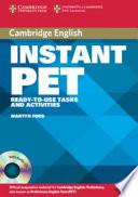 Instant PET