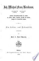 Johann Michael Franz Birnbaum