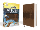 NIV Kids  Visual Study Bible  Imitation Leather  Bronze  Full Color Interior