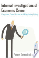 Internal Investigations of Economic Crime