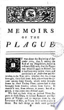 A Journal Of The Plague Year Signed H F