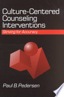 Culture Centered Counseling Interventions