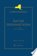 LexisNexis AnswerGuide New York Matrimonial Actions