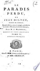 Le Paradis Perdu De John Milton, Traduit De L'anglois : ...