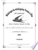 Mittheilungen des Ornithologischen Vereines in Wien