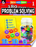 180 Days of Problem Solving for First Grade  Practice  Assess  Diagnose