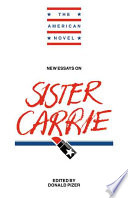 New Essays on Sister Carrie
