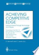 Achieving Competitive Edge