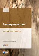 Employment Law 2008