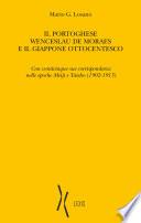 Il portoghese Wenceslau de moraes e il giappone ottocentesco