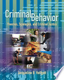 Criminal Behavior book