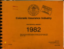 Colorado Insurance Industry Statistical Report