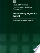 Broadcasting Rights For Cricket