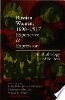 Russian Women  1698 1917