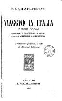 Viaggio in Italia  1803 1804