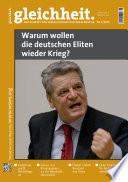 Warum Wollen Die Deutschen Eliten Wieder Krieg