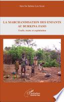 La marchandisation des enfants au Burkina Faso